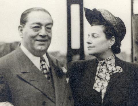 Carlos and Laura Ferreira c. 1935